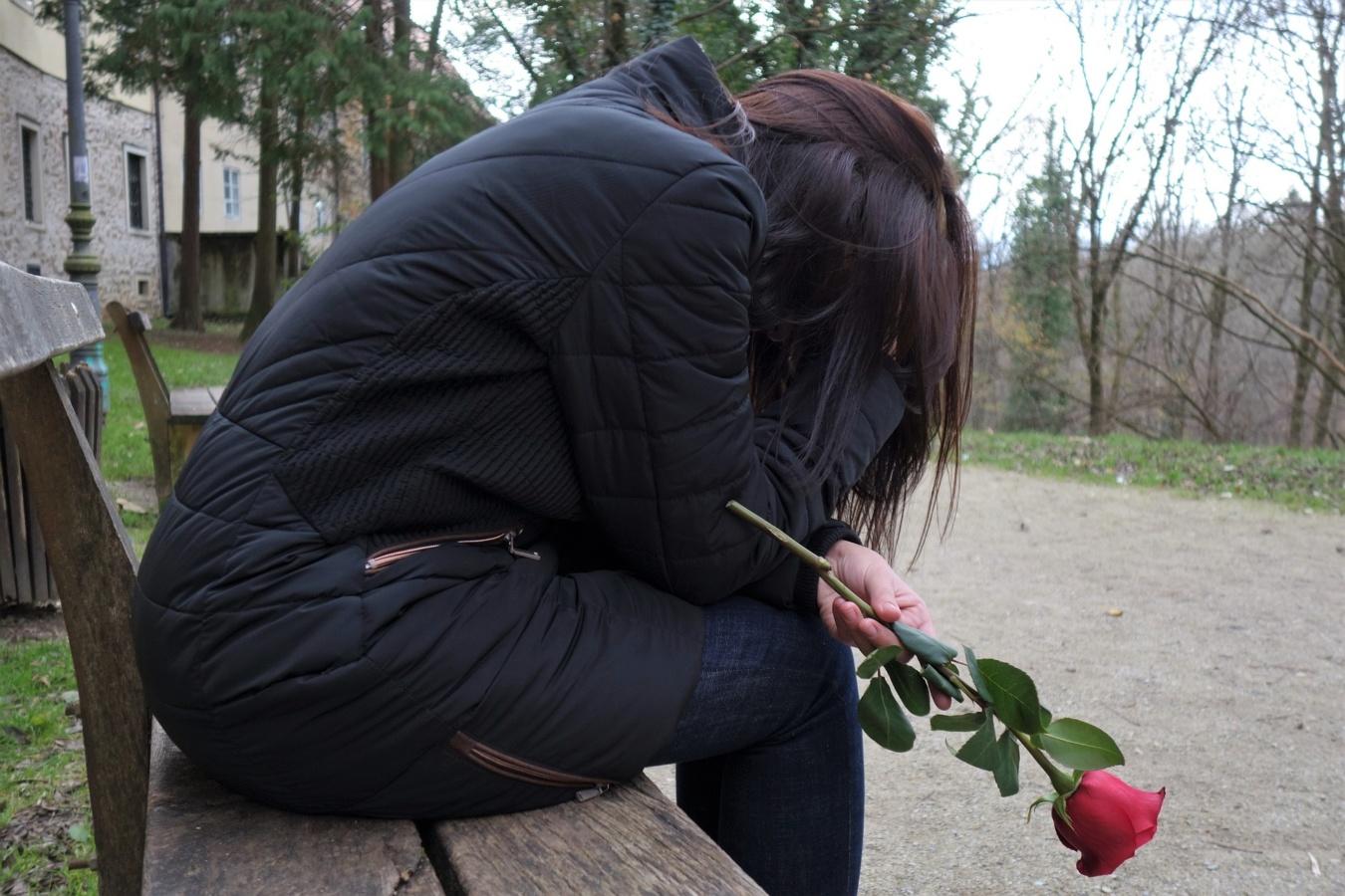 Woman Lost Love